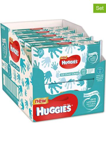 """HUGGIES-DryNites 10er-Set: Feuchttücher """"All Over Clean"""" - 10x 56 Stück"""