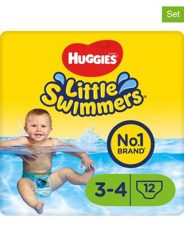"""HUGGIES-DryNites 2er-Set: Schwimmwindeln """"Little Swimmers"""" Gr. 3/4, 7-15 kg (24 Stück)"""