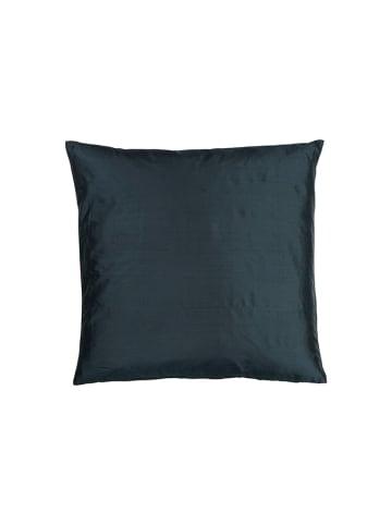 Eightmood Jedwabna poszewka w kolorze ciemnozielonym - (D)50 x (S)50 cm