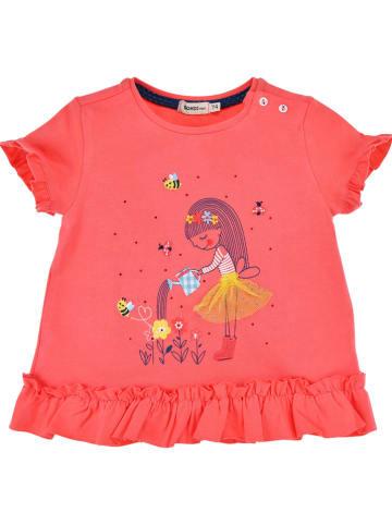 """Bondi Shirt """"Bloemenmeisje"""" rood"""