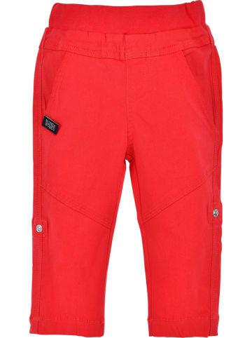 """Bondi Spodnie """"Turn Up"""" w kolorze czerwonym"""