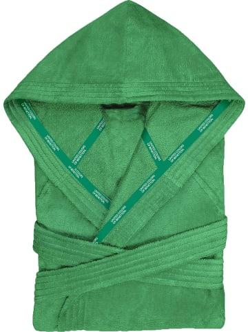 Benetton Szlafrok w kolorze zielonym