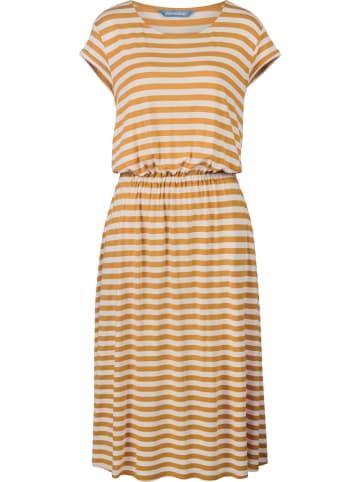 "Finside Sukienka ""Mekko"" w kolorze żółtym"