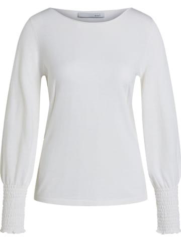 Oui Sweter w kolorze białym