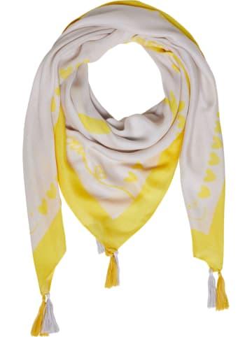 Oui Chusta w kolorze jasnoszaro-żółtym