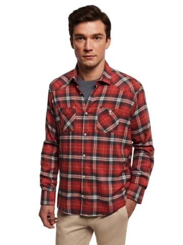 Polo Club Koszula - Custom fit - w kolorze czerwonym
