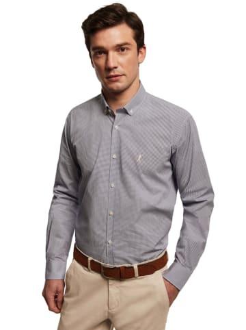 Polo Club Koszula - Custom fit - w kolorze szarym