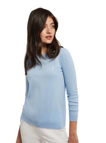 Polo Club Sweter w kolorze błękitnym