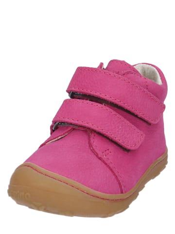 "PEPINO Leder-Sneakers ""Chrisy"" in Pink"