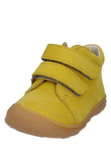 """PEPINO Leren sneakers """"Chrisy"""" geel"""