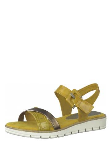 Marco Tozzi Sandalen geel