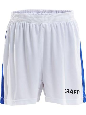 """Craft Szorty sportowe """"Progress"""" w kolorze białym"""