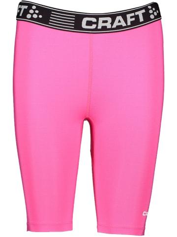 """Craft Szorty """"PC"""" w kolorze różowym"""