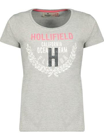 """Hollifield Shirt """"Jantasia"""" in Hellgrau"""