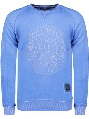 """Hollifield Bluza """"Fevada"""" w kolorze niebieskim"""