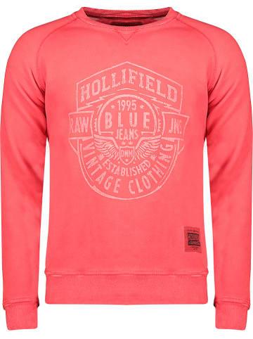 """Hollifield Bluza """"Fevada"""" w kolorze koralowym"""