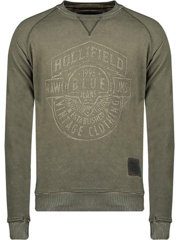 "Hollifield Sweatshirt ""Fevada"" kaki"