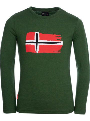 """Trollkids Functioneel shirt """"Oslo"""" groen"""