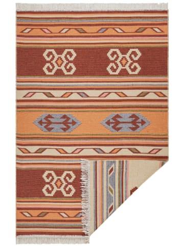 """Hanse Home Omkeerbaar tapijt """"Tansa"""" oranje/roestbruin"""