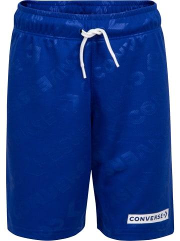 Converse Szorty sportowe w kolorze niebieskim