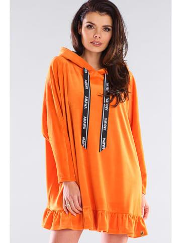 Awama Sukienka w kolorze pomarańczowym