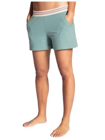 Calida Pyjamashort mintgroen