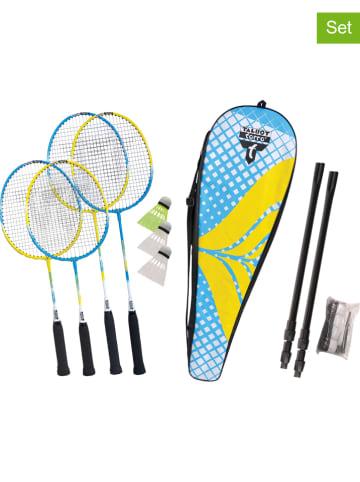 """MTS 8-częściowy zestaw """"Family"""" w różnych kolorach do gry w badmintona"""