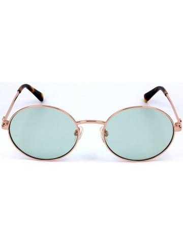 Moschino Dameszonnebril goudkleurig/lichtgroen