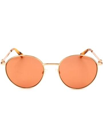 Moschino Dameszonnebril goudkleurig/oranje