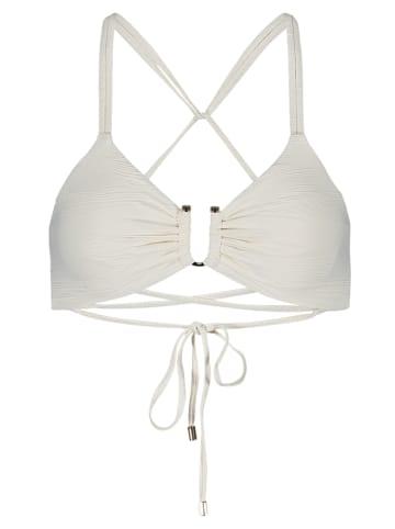 """Vince Camuto Biustonosz-bikini """"Pacific Wave"""" w kolorze białym"""