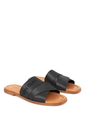 Twin Island Slippers zwart