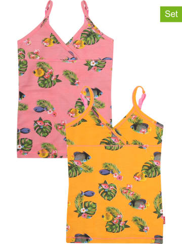 Claesens 2-delige set: onderhemden meerkleurig