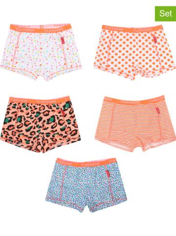 Claesens 5-delige set: hipsters oranje