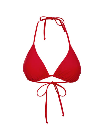 4F Biustonosz kąpielowy w kolorze czerwonym
