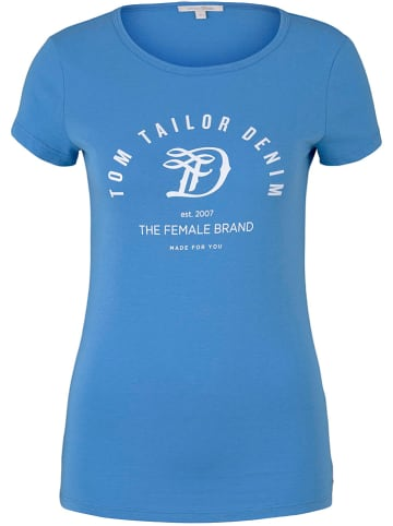 TOM TAILOR Denim Shirt blauw