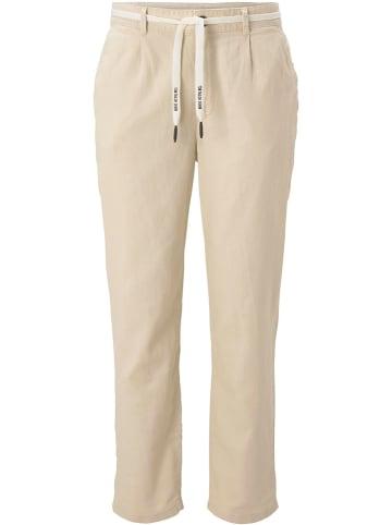 TOM TAILOR Denim Spodnie w kolorze beżowym