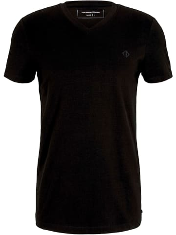 TOM TAILOR Denim Koszulka w kolorze czarnym