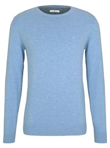 Tom Tailor Sweter w kolorze błękitnym