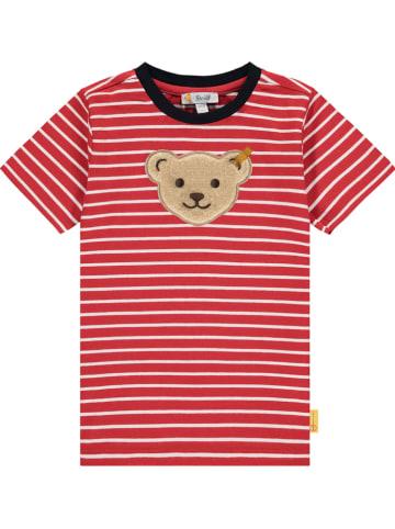 Steiff Koszulka w kolorze czerwonym