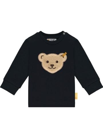 Steiff Bluza w kolorze czarnym