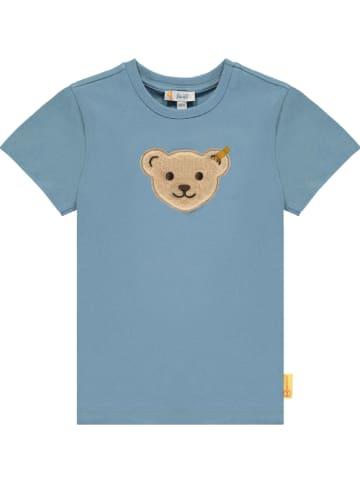 Steiff Koszulka w kolorze niebieskim
