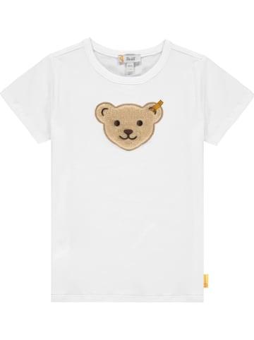 Steiff Shirt in Weiß
