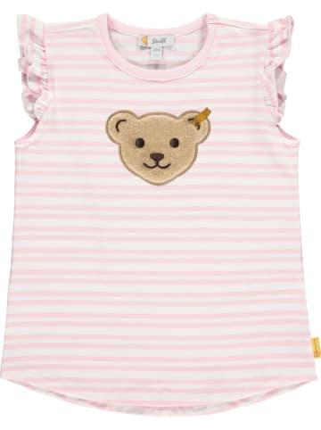 Steiff Koszulka w kolorze jasnoróżowym