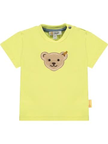 Steiff Koszulka w kolorze żółtym