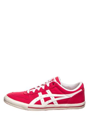 """Asics Sneakersy """"Aaron"""" w kolorze różowym"""