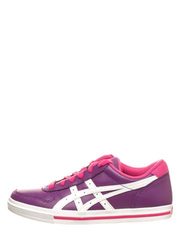 """Asics Sneakersy """"Aaron"""" w kolorze fioletowym"""