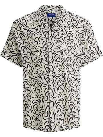 Jack & Jones Koszula w kolorze biało-czarnym