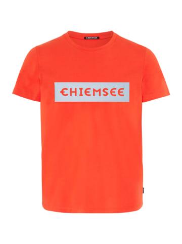 """Chiemsee Koszulka """"Ottfried"""" w kolorze czerwonym"""