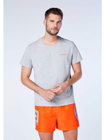 "Chiemsee Koszulka ""Perka"" w kolorze szarym"