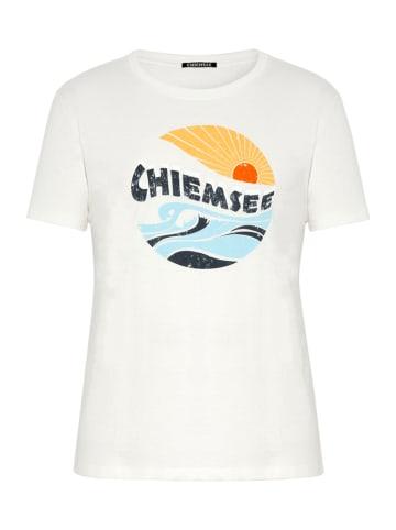 """Chiemsee Koszulka """"Guam"""" w kolorze białym"""